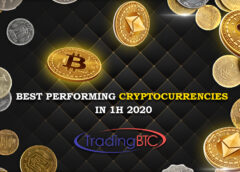 Best Performing Cryptos 1H 2020